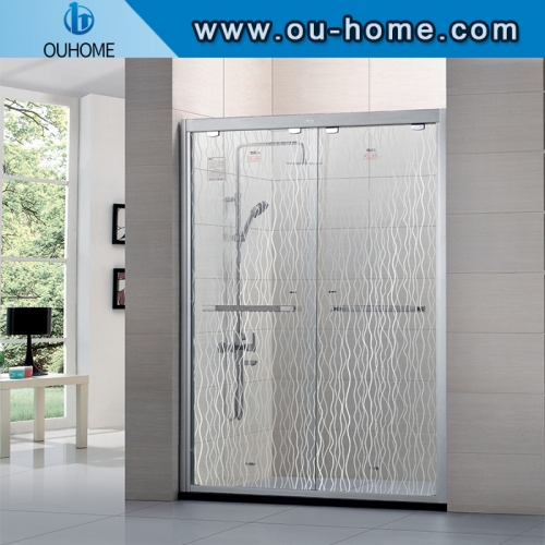 Self Adhesive Glass Explosion-proof PET Protective Film For the Bathroom Shower Room