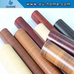 Wood grain decorative film furniture stickers factory direct sale