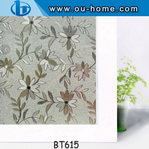 PVC Embossing Window Privacy Decorative Film
