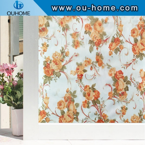 H22044 Colored cellophane decorative printing static film