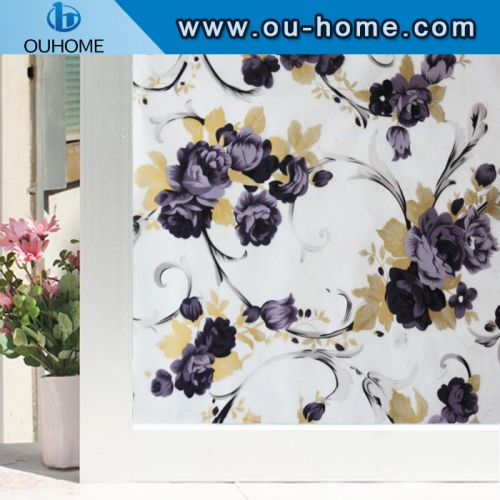 H22048 High quality self adhesive static window film ,static cling window film