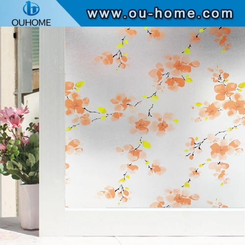H2439 PVC interior decoration color waterproof static window film