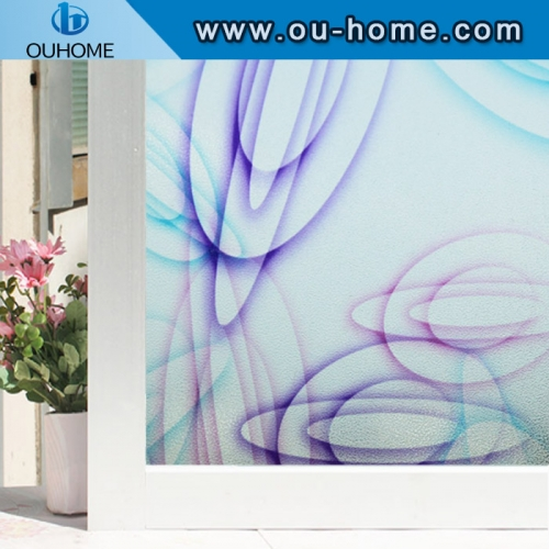 H22033 Static Cling Self adhesive anti-uv Privacy Glass Stickers