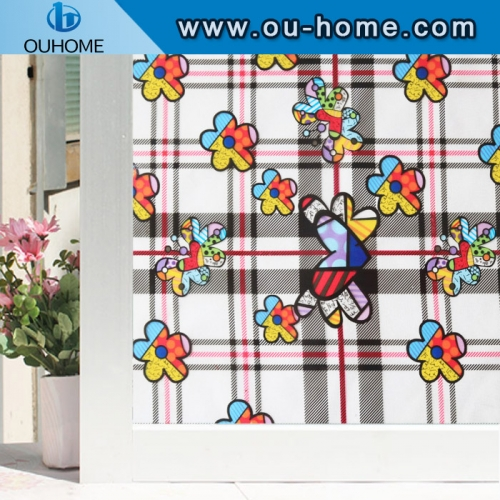 H22026 Custom dyed electrostatic window film