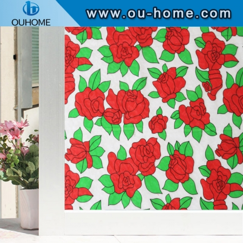 H48092 Electrostatic preservation dyeing decorative film
