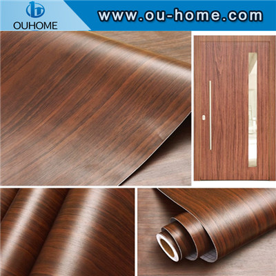 PVC wood grain texture self-adhesive sticker