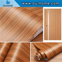 High quality decorative wood grain PVC self-adhesive sticker