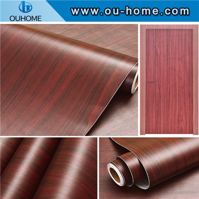 PVC wood grain decorative sticker