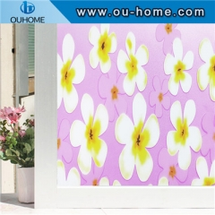 H8351 Static Decorative glass Cling Window Film