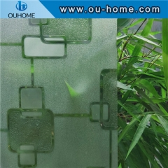 H12206 Decorative static cling glass film