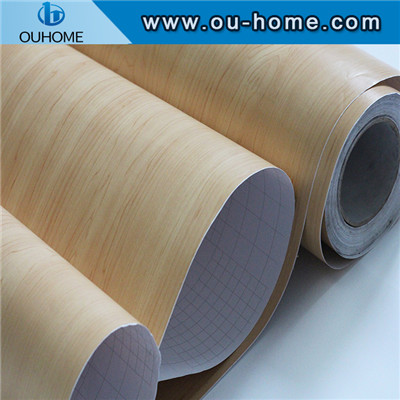PVC wood grain furniture decorative film