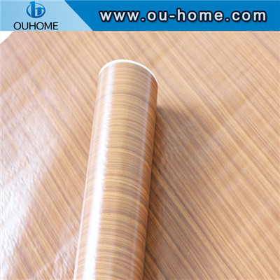 Wood grain Kitchen furniture self-adhesive sticker