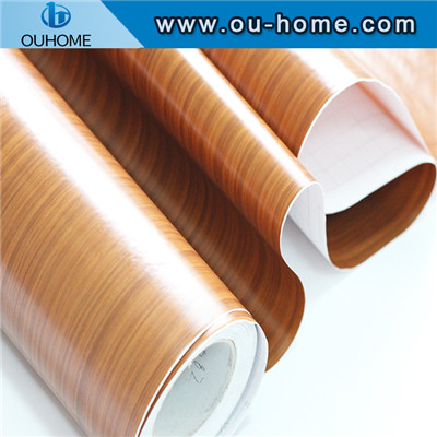 Furniture renovation self - adhesive 3D wood grain stickers Film