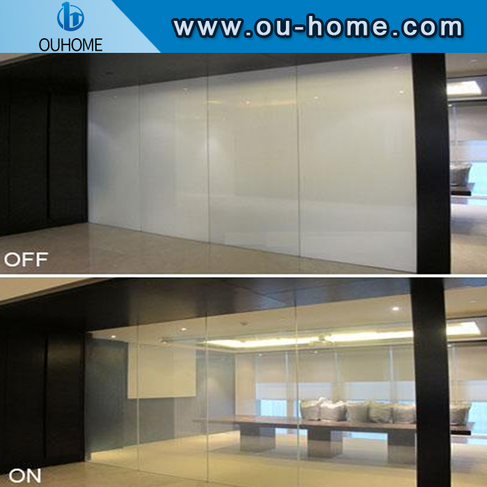 Adjustable electrochromic electronic tinted film