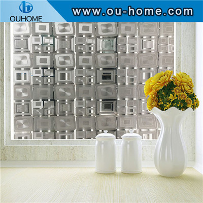 BT14706 Square design frosted glass window film