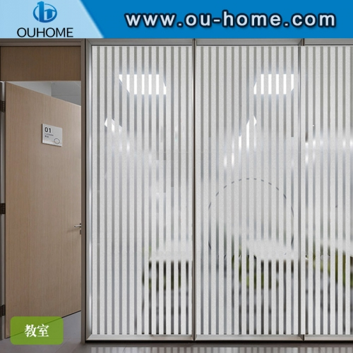 H15506 Static Cling Self-adhesive Opaque Glass Sticker