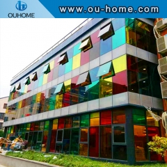 BT113 PVC Decorative Frosted Translucent Glass Film