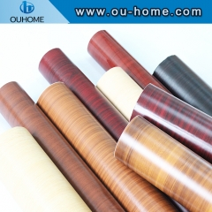 Decorative pattern wood grain self-adhesive PVC furniture film