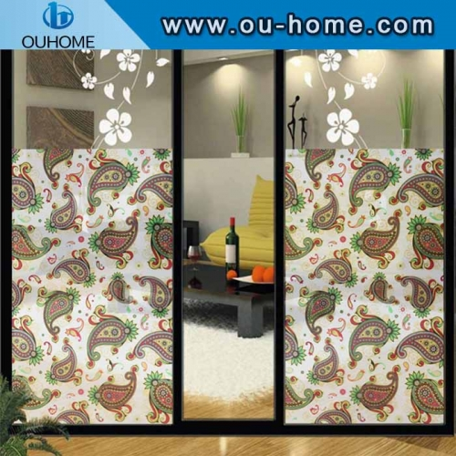 H855 Non-glue glass static printing film