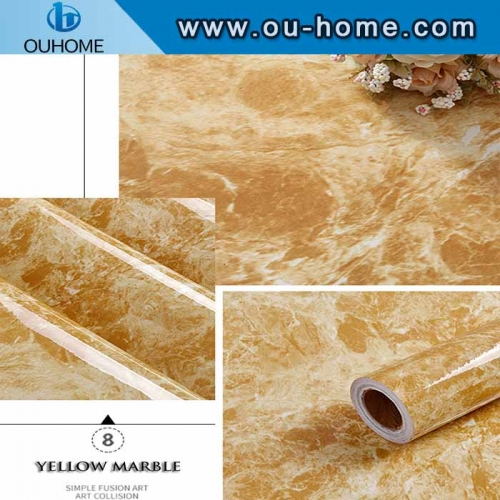 Hot sale marble design self-adhesive sticker for wall