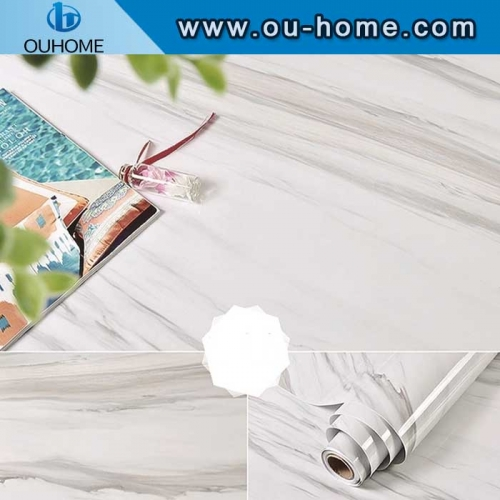 Home Decoration Waterproof Marble Stone Brick Wall Sticker