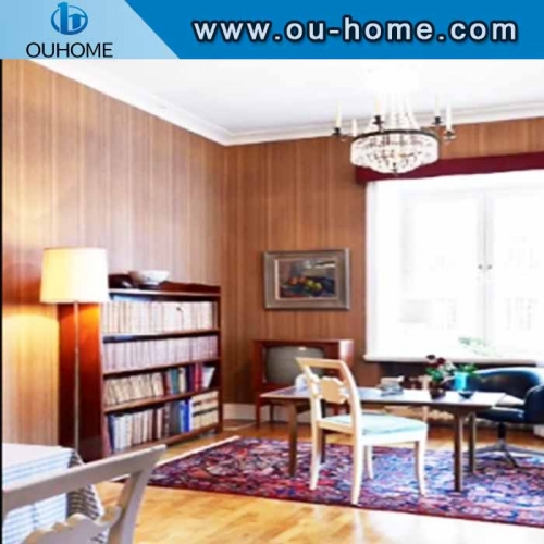 Wood Grain Pattern PVC Decorative Film for Cabinet