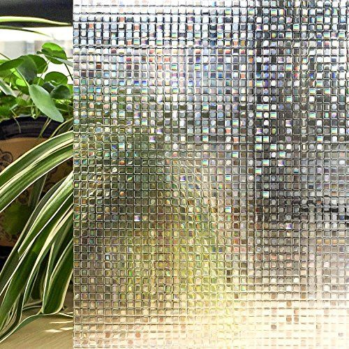 Use a static embossing window film to beautify your space