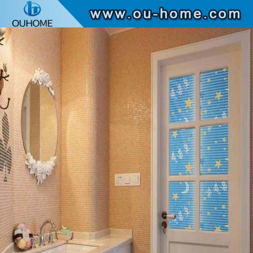 BT835 Children cut decorative tinted window film
