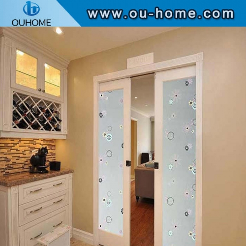 H8001 PVC frosted window privacy glass film