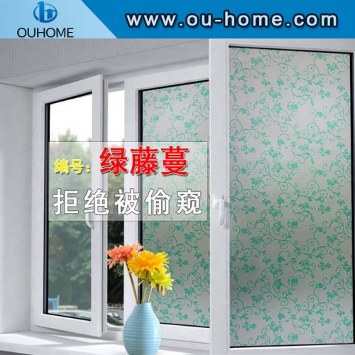 8059 Color bubble stained pvc window sticker
