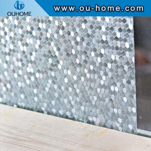 H4506 Opaque Frosted Static Cling Privacy Window Films