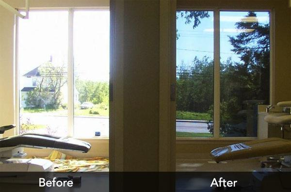 Home window film that prevents furniture from fading and glare