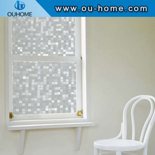 H10506 3D embossing home static window film