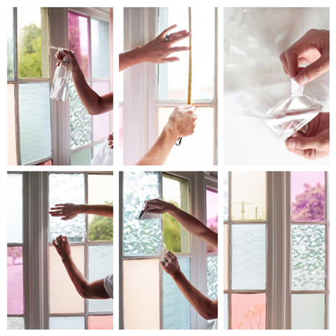 Frosted Tinting window film-Gives Your Windows a New Look